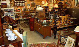 Room in Butler Trading Co. Antique Store